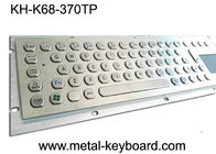 Stainless Steel Panel mount industrial pc keyboard with touchpad